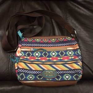 Lily Bloom small crossbody bag Aztec/tribal print